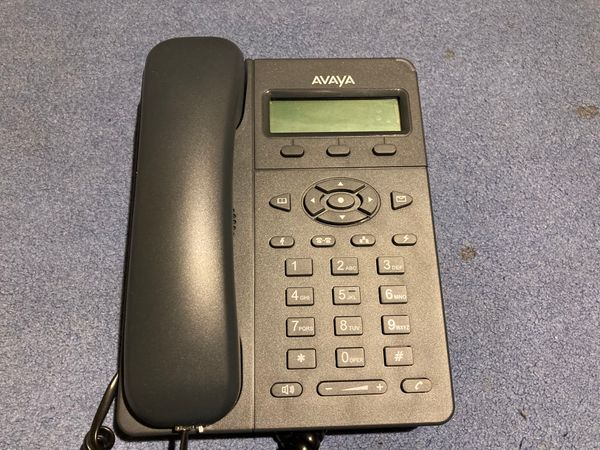 Resetting Avaya E129 IP Phones to use with Asterisk